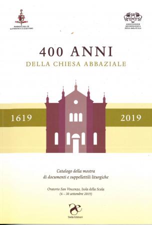 400 anni della chiesa abbaziale